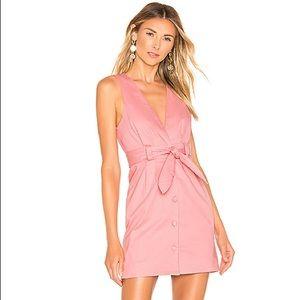 NWT Lovers + Friends Norah Mini Dress - Pink